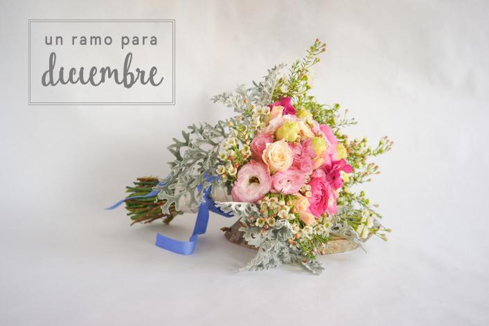 ramo de novia en Diciembre