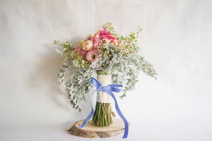Un ramo de novia en diciembre