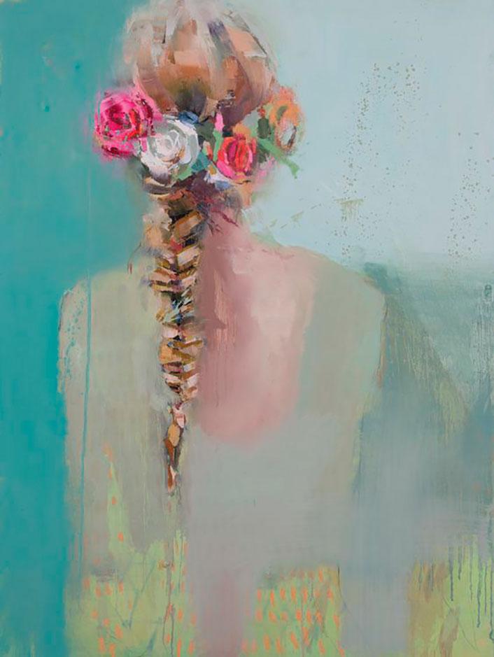 chicas con corona de flores teil duncan
