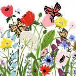 ilustración flores shannon kirsten