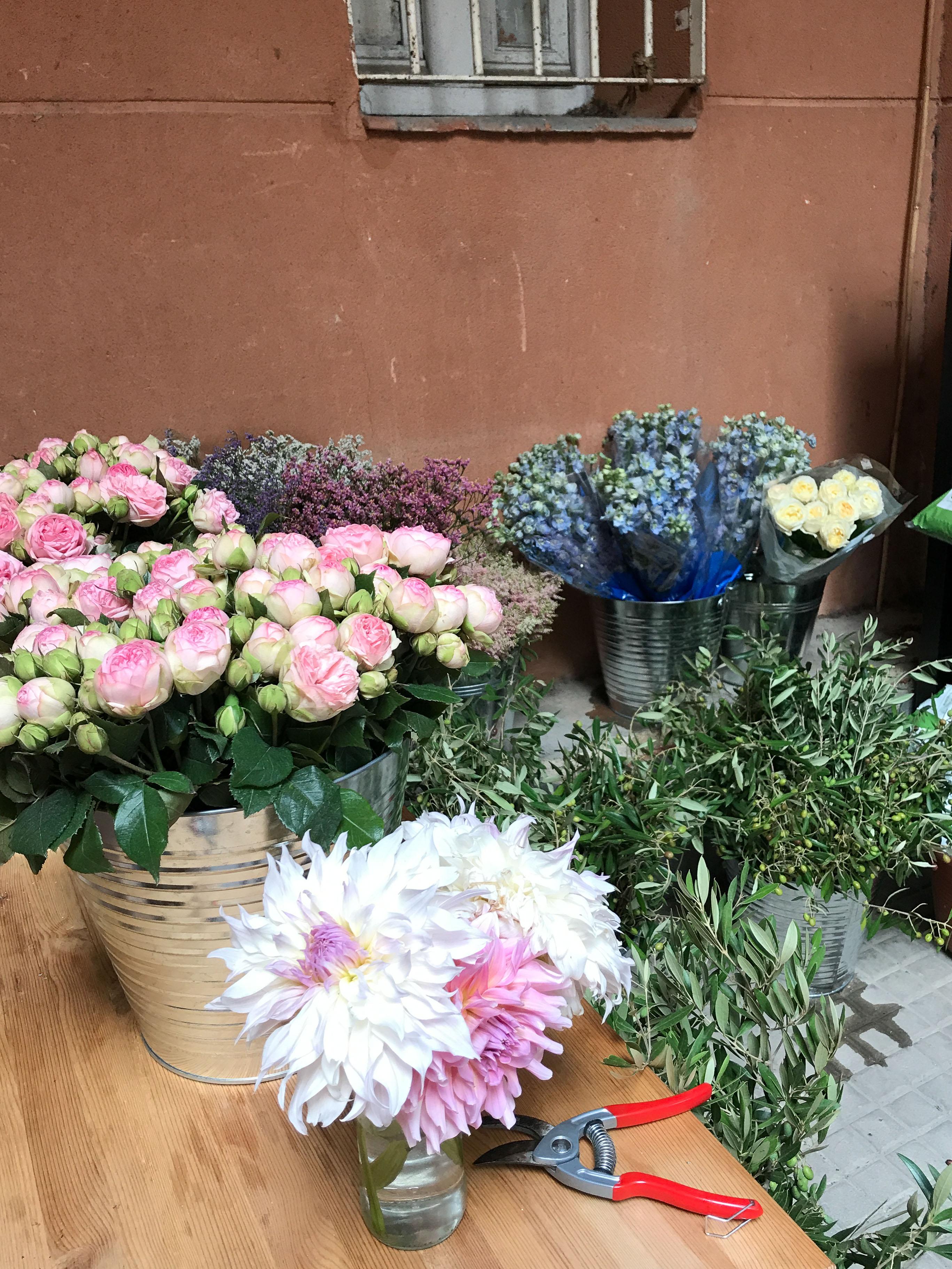 flores en Chamberí