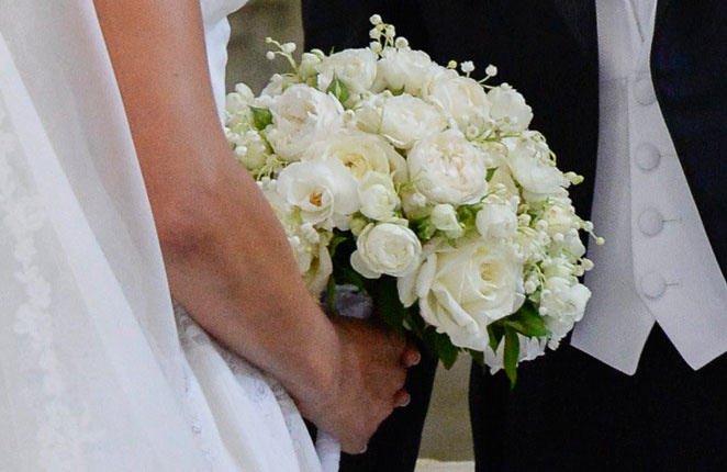 el ramo de magdalena de suecia. ramos de novias de famosas