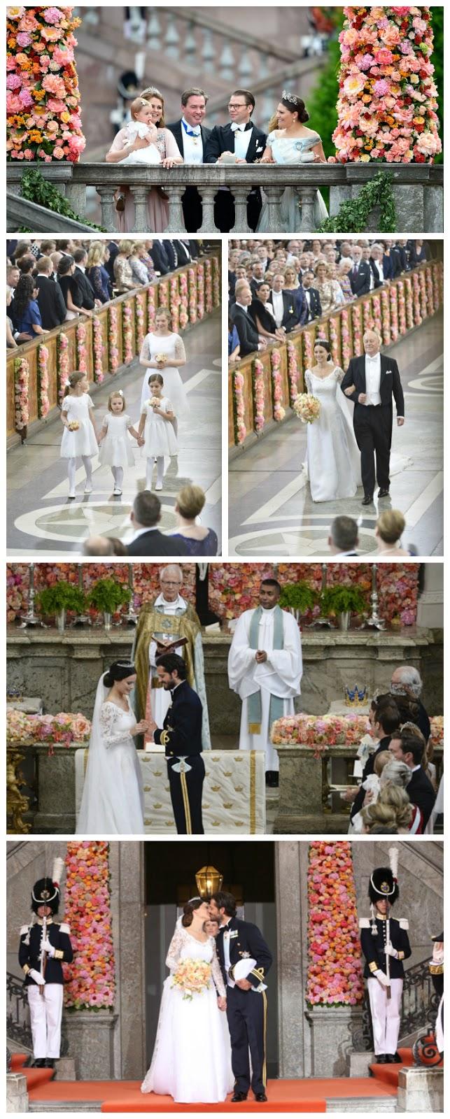 La boda de Sofia Hellqvist y Carlos Felipe de Suecia