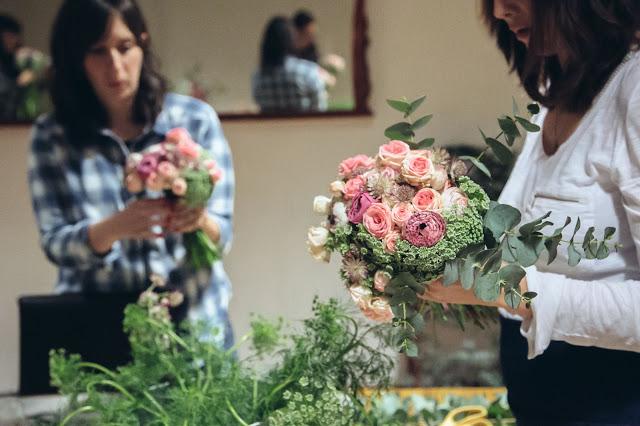 Taller Floral con Cuentimarina