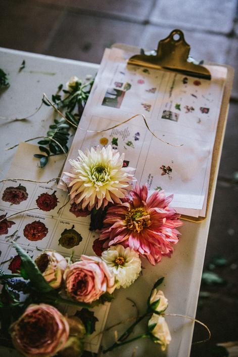 preparación de boda