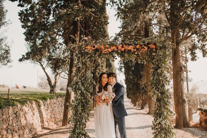 arco rectangular para boda con Jordi Cruz