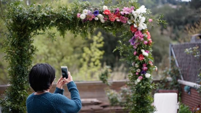 arco rectangular para bodas