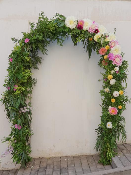 arco para bodas
