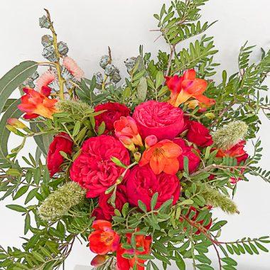 Ramo de Flores Rojas Floritismo