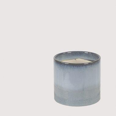 macetero ceramica azul floritismo